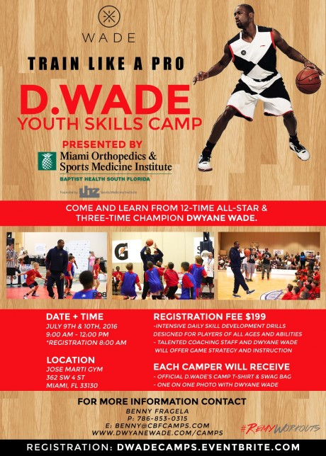 2016 DWade Youth Skills Camp