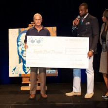 Much respect to Mr. Harris Rose, President and COO of Rosen Hotels & Resorts. He is doing great things with his Tangelo Park Program,  a community based educational program that benefits kids and families living in the Tangelo Park neighborhood in Orlando. It was a pleasure for me to donate to his cause.