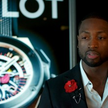 This Hublot Miami Heat watch is sick!