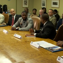 Hands down...one the of the best parts of my day was being apart of the White House Fatherhood Initiative Committee Roundtable, honoring fathers who exemplify President Obama's goals for Fatherhood Initiative.