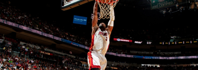 Wade leads Heat past Pistons, 110-88