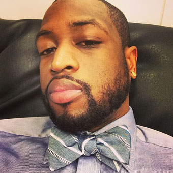 Dwyane Wade for The Tie Bar