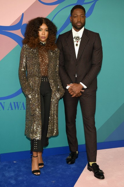 Gabrielle Union & Dwyane Wade at CFDA Awards
