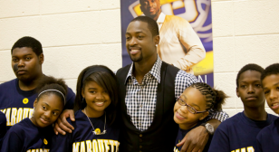 Dwyane Wade at Marquette