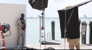 Ocean Drive Cover Shoot