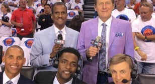 Craig Sager and TNT NBA Crew