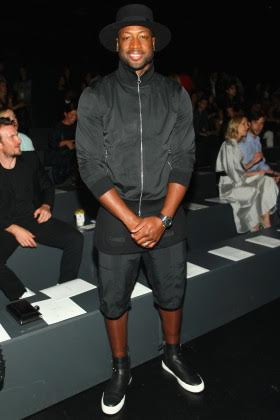 NEW YORK, NY - SEPTEMBER 13: NEW YORK, NY - SEPTEMBER NBA player Dwyane Wade attends Prabal Gurung Spring 2016 during New York Fashion Week: The Shows at The Arc, Skylight at Moynihan Station on September 13, 2015 in New York City. (Photo by Astrid Stawiarz/Getty Images for NYFW: The Shows)
