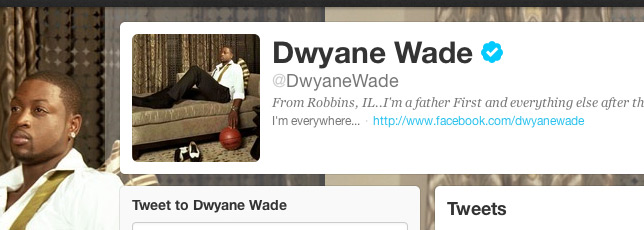 @DwyaneWade's Q&A with his Twitter Followers
