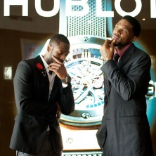 Me and UD looking as sharp as our Hublot watches.