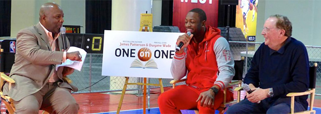 Dwyane Wade and James Patterson Join Forces Again to Raise Awareness, Save Lives Through Reading