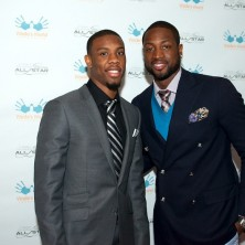 Shout out to my teammate Norris Cole for coming out and supporting us.