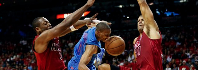Heat beats Thunder in Finals rematch
