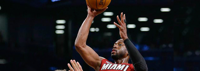 Heat blow out Nets in 2nd half, 105-85