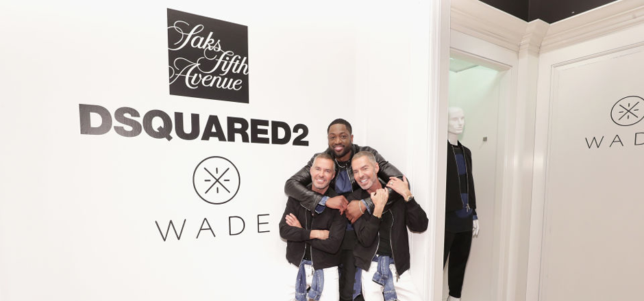 Dwyane Wade on Fashionista - DSQUARED2