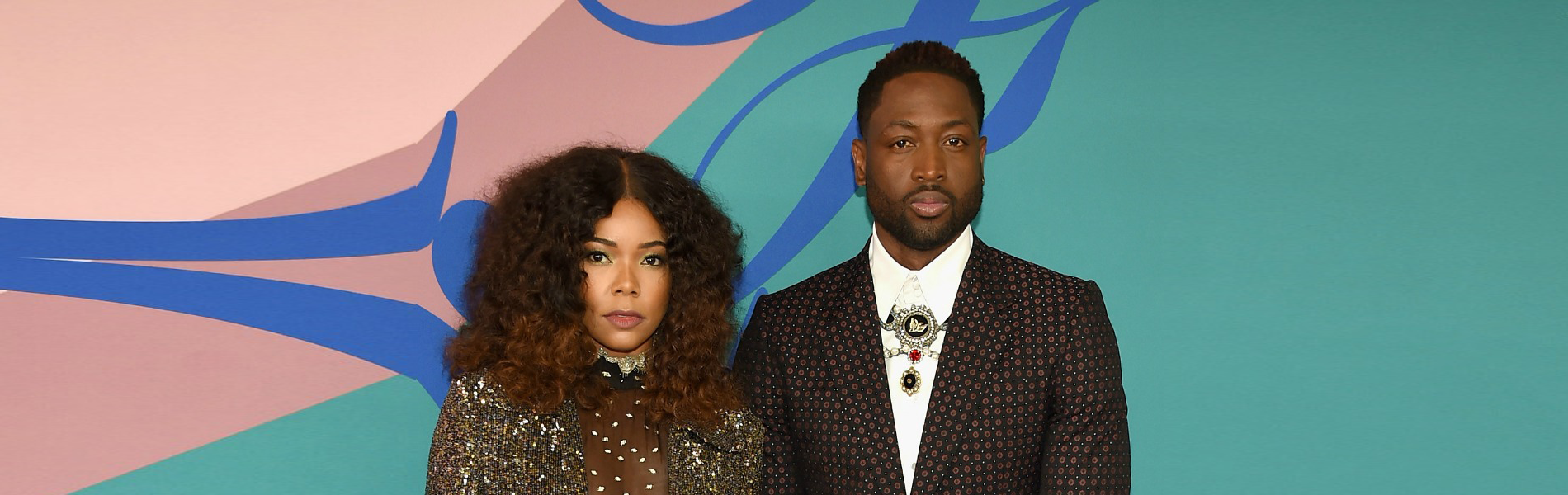 Gabrielle Union and Dwyane Wade at CFDA Awards