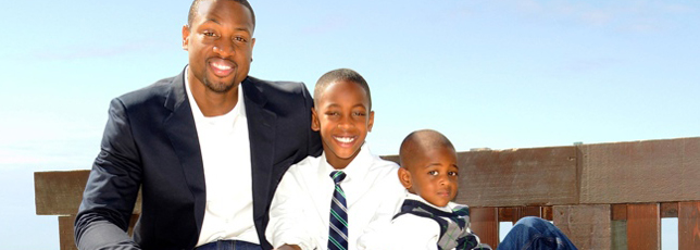 NBA Star Dwyane Wade on Being a Single Dad